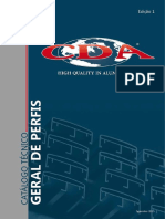 Catálogo Geral de Perfis Cda - Web
