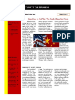 appel m newsletter on the south china sea