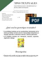 PROTOTIPOS TEXTUALES