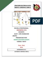 Informe de Física II n2, Dennys