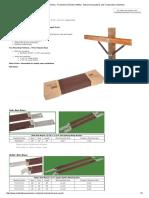 Hubbell Crossarm Brace Wood