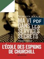 Ma Vie Dans Les Services Secret - 2eme Guerre Mondiale - Livres