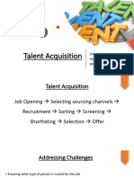 Chapter No 4 Talent Acquisition