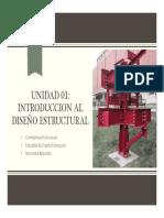 Unidad 01 Introduccion Al Diseño Estructural