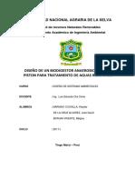 Biodigestor Avance Medciclo