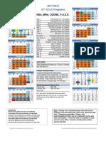 2017-18 ozone calendar