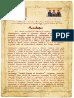 Rezolutie Sinaxa Botosani