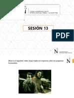 Diapositivas - Sesión 13