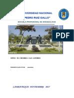 El Chorro PDF