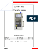 Fanuc 0i Operator Manual1
