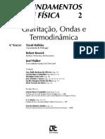 [HALLIDAY, DAVID. RESNICK, ROBERT. WALKER, JEARL] Fundamentos de Física 2 - Gravitação, Ondas e Termodinâmica.pdf