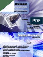 4 - Gobierno Electronico IMES - Marco Legal