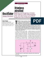 Maxim Trimless Vco Design