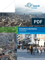 Air Quality in Latin America Report 2013