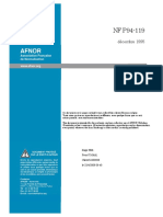 NF P94-119