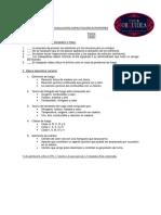 Evaluación Capacitación Extintores Club Orquidea