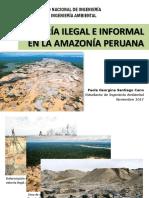 Minería Ilegal e Informal en La Amazonía Peruana