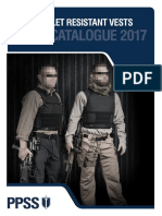 PPSS Bullet Resistant Vests Catalogue 2017 1
