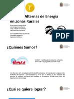 Presentacion Propuesta Proyecto SIFAEDES