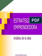 análisis de la idea - estrategia emprendedora.pdf