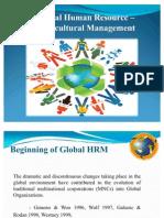 Global HR-Intercultural Management