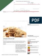 18 Receitas de Biscoito Light - MundoBoaForma.com