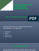 Etapas Del Proceso de La Auditoria Administrativa