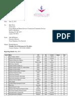 TPCN Monthly List of Subcontractors 06-2015