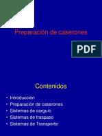 Preparacion de Caserones