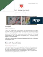 science newsletter 113017