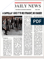 Straight No Chaser Concert Report
