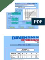 Copia de Dimensionamieno de Tajeo - Metodo Grafico_Final
