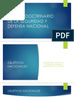 Marco Doctrinario de La Seguridad y Defensa Nacional