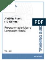 TM-1401 Programmable Macro Language (Basic)