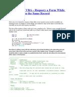 Vba Access Code Expert