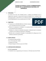 Bases Del Concurso de Desfile Institucional de Ecuelas Profesionales de La Unab