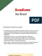Arcaísmo no Brasil