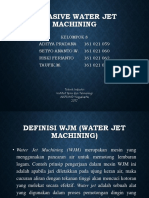 Abrasive Water Jet Ppt
