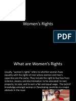 Women's Rights Geo