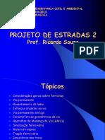 1. Projeto Estradas II - Introdução