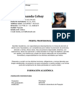 Luisa Fernanda Cebay Hoja de Vida 1