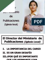 (05) - El Rol Del Director de Publicaciones de La Iglesia Local (Final 2016)