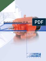 Katalog 821 07 Drehstrom IP55