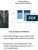 Perencanaan Kedalaman Perairan, Lebar Jalur, Pengerukan (5)