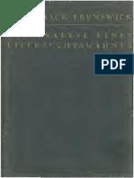 Brunswick 1929 Analyse Eines Eifersuchtswahnes k Text