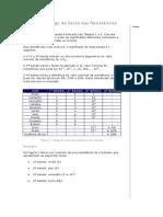 Tabelas de Resistencias de 4 e 5 Cores