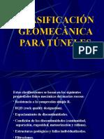 Clasificaciones Geomecanicas Para Tuneles