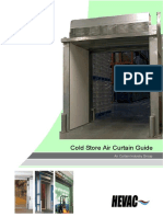 Cold Store Air Curtain Guide, HEVAC, 2009