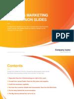 Business Powerpoint Template Vol 01(Color C)
