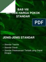8-Sistem Harga Pokok Standar